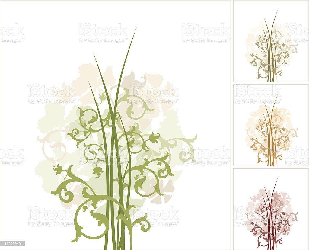 Garden of dreams royalty-free stock vector art