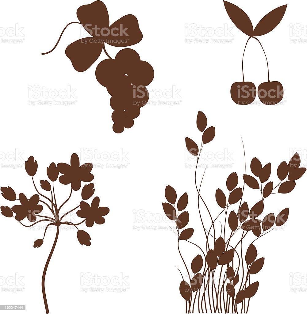 Garden set royalty-free stock vector art