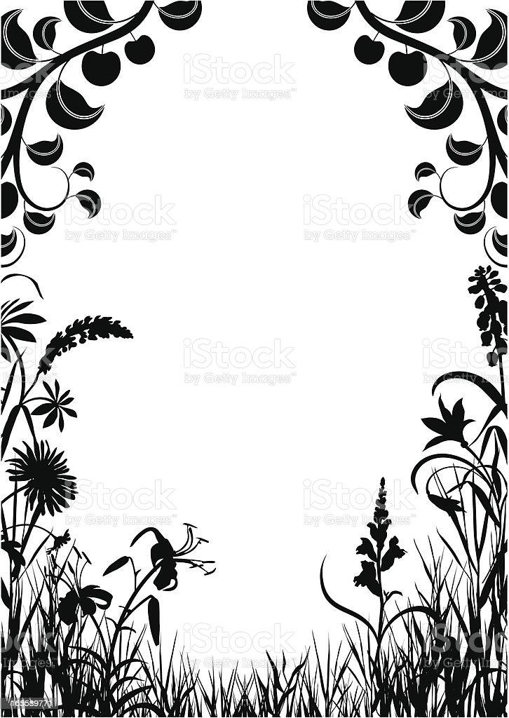 Garden royalty-free stock vector art