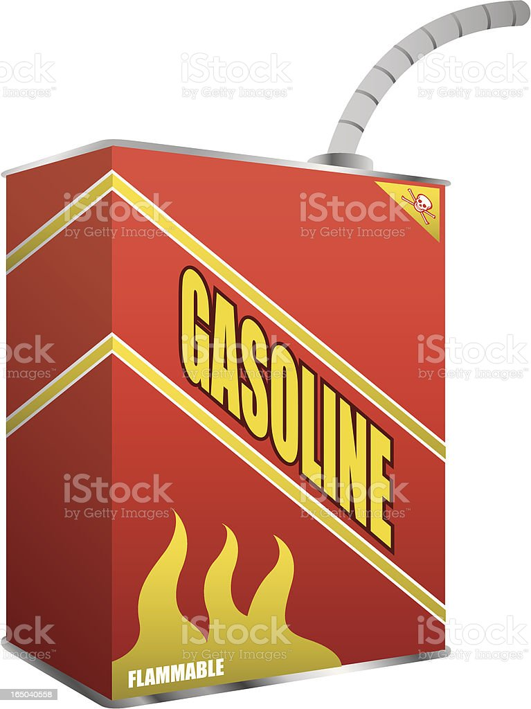 Gas Can royalty-free stock vector art