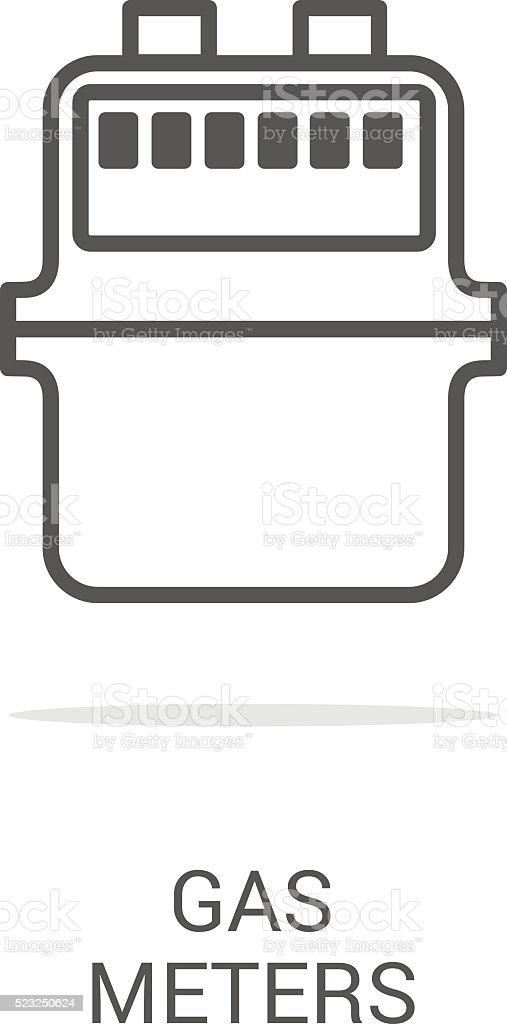 gas equipment vector art illustration