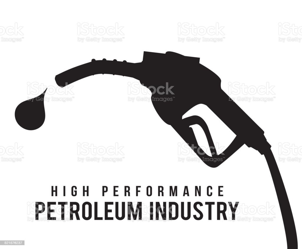 gas industry design vector art illustration