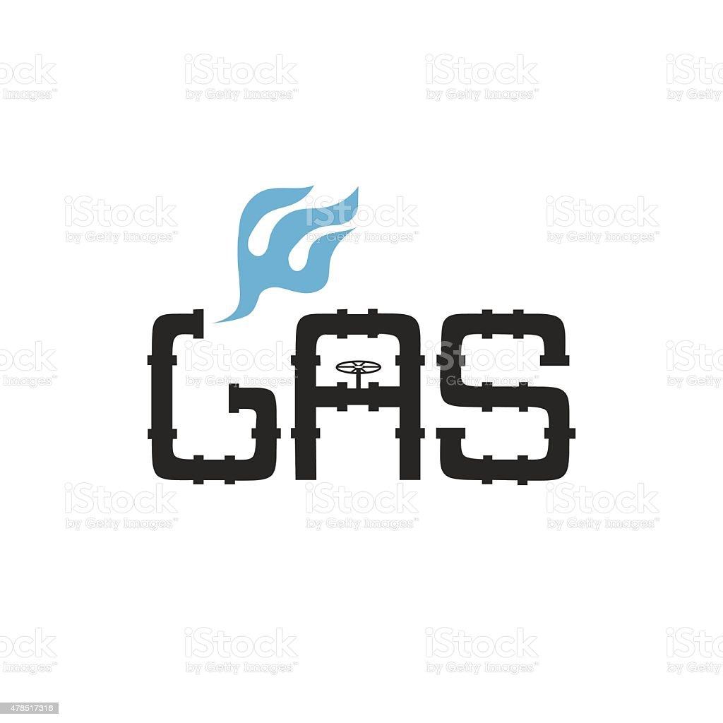 gas industry vector design template vector art illustration