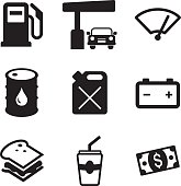 Gas Pump Icons