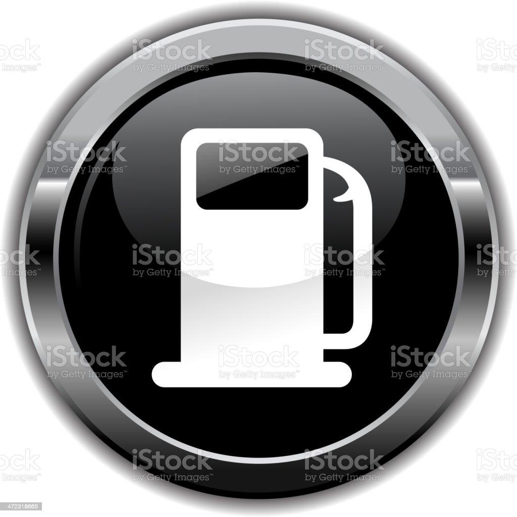 gas pump symbol royalty-free stock vector art