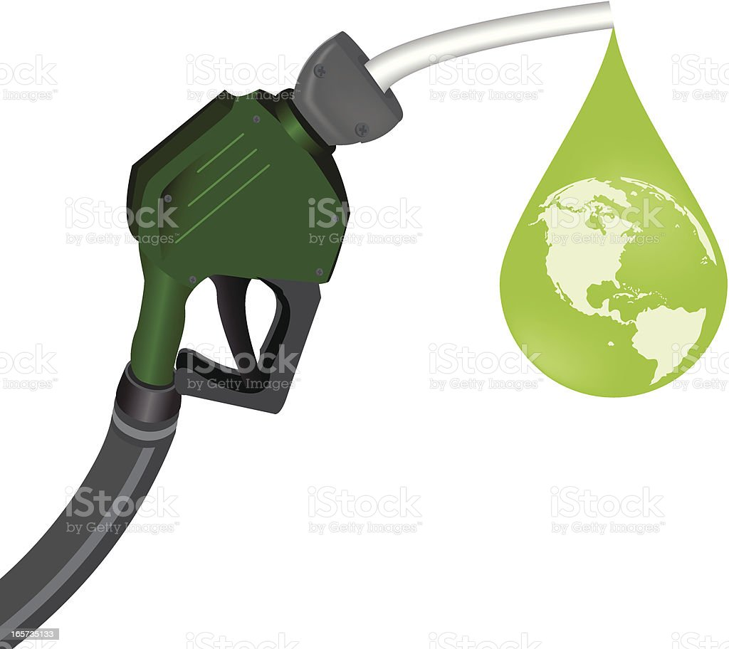 gas pump royalty-free stock vector art