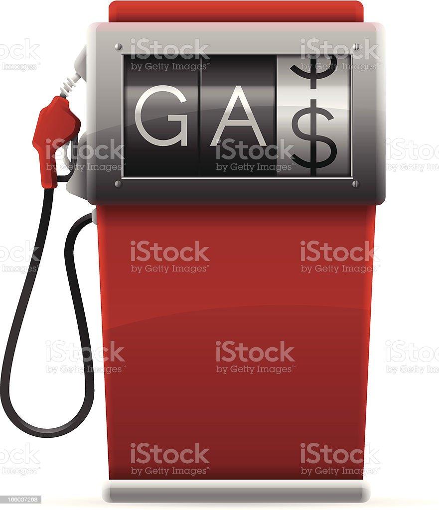Gas Pump royalty-free stock vector art