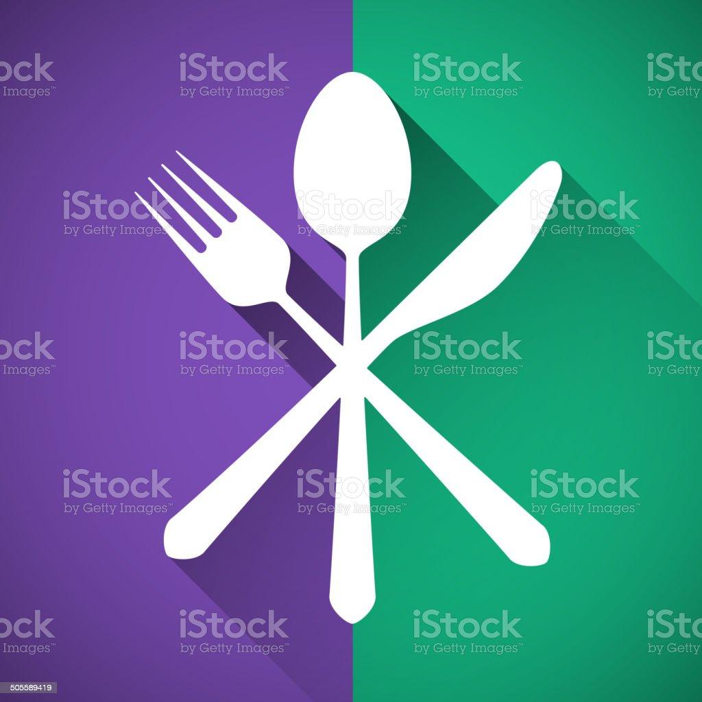 Gastronomy - Restaurant symbol vector art illustration
