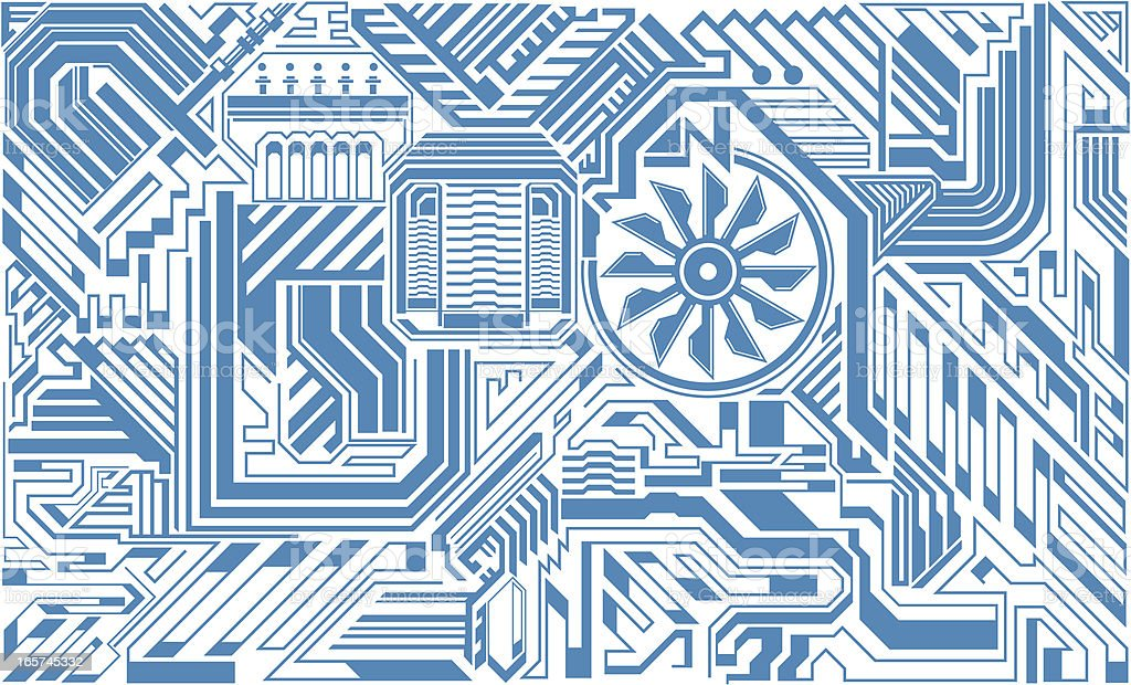 gear background royalty-free stock vector art