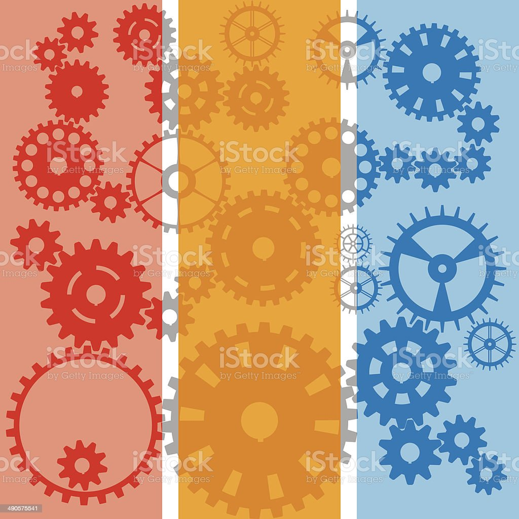 Gear banner royalty-free stock vector art
