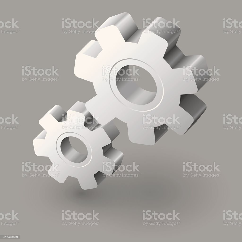 Gear icon royalty-free stock vector art