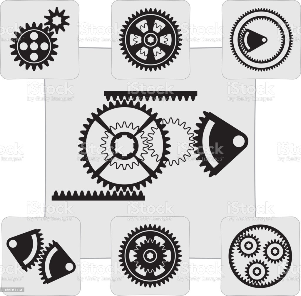 gear royalty-free stock vector art