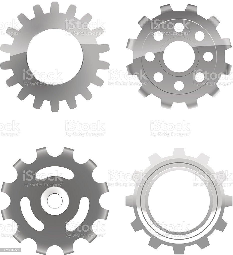 gears royalty-free stock vector art