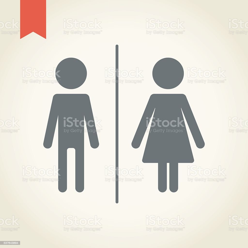 gender icon vector art illustration