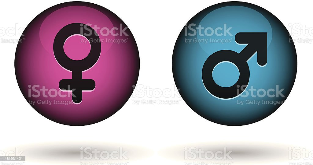 gender icons royalty-free stock vector art