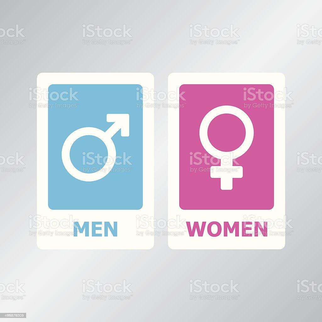 Gender Symbol vector art illustration