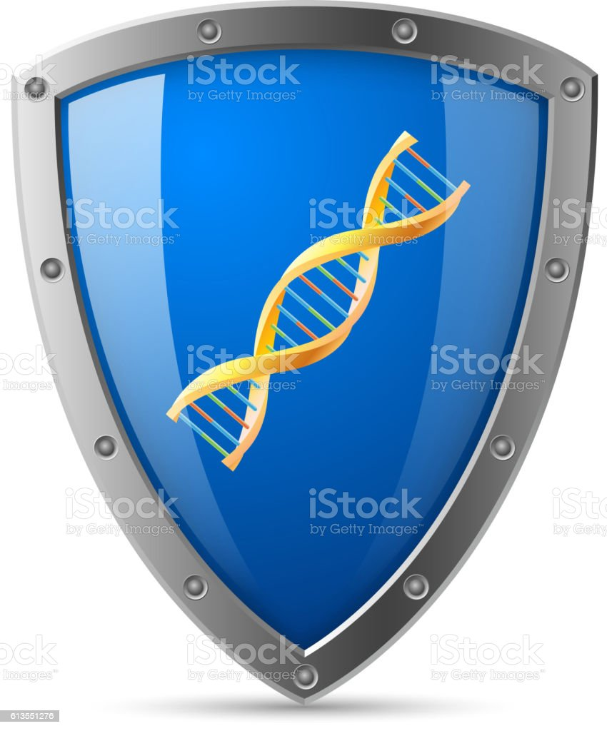 Gene safety vector art illustration