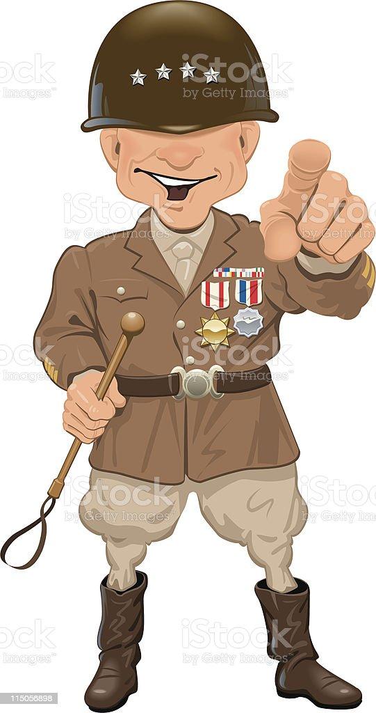 General vector art illustration