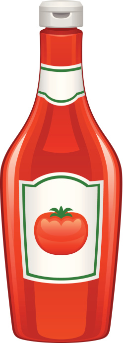 Ketchup Clip Art, Vector Images & Illustrations - iStock