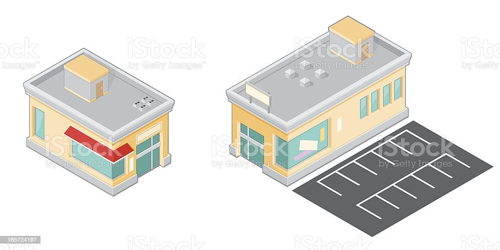 Generic Stores royalty-free stock vector art