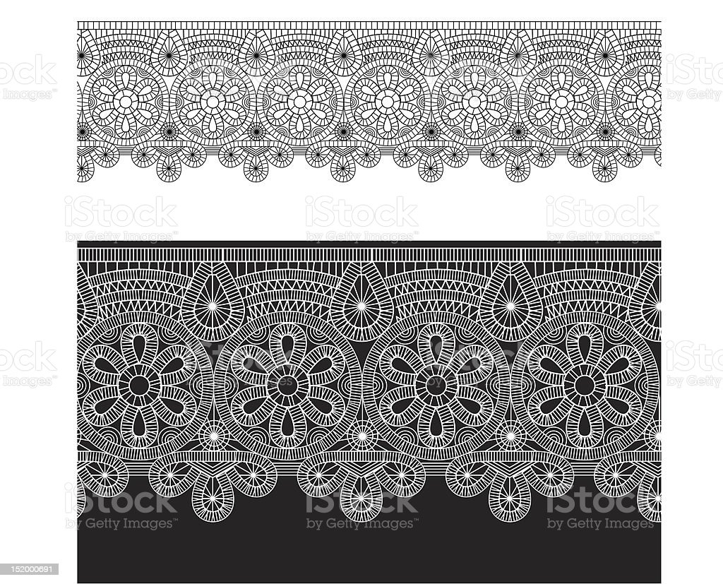 gentle lace royalty-free stock vector art