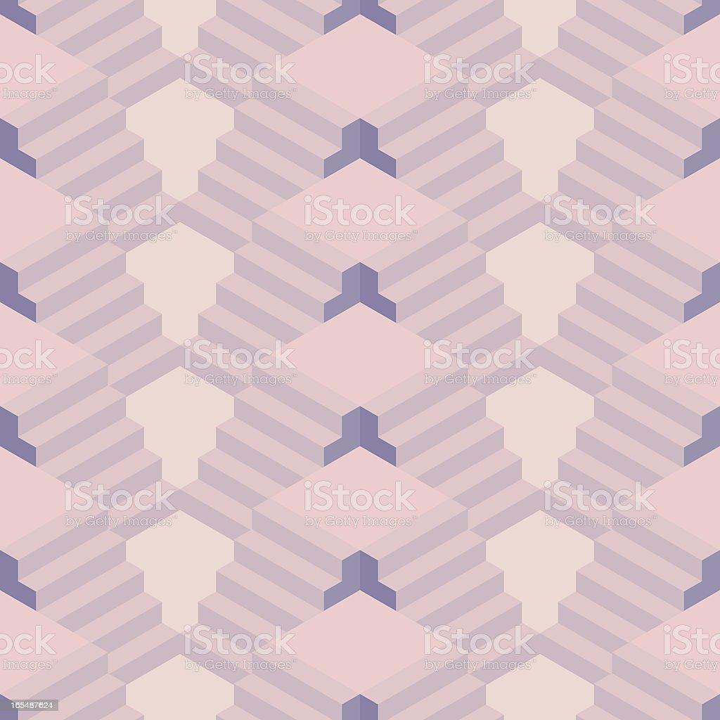 Geo Seamless Wallpaper royalty-free stock vector art