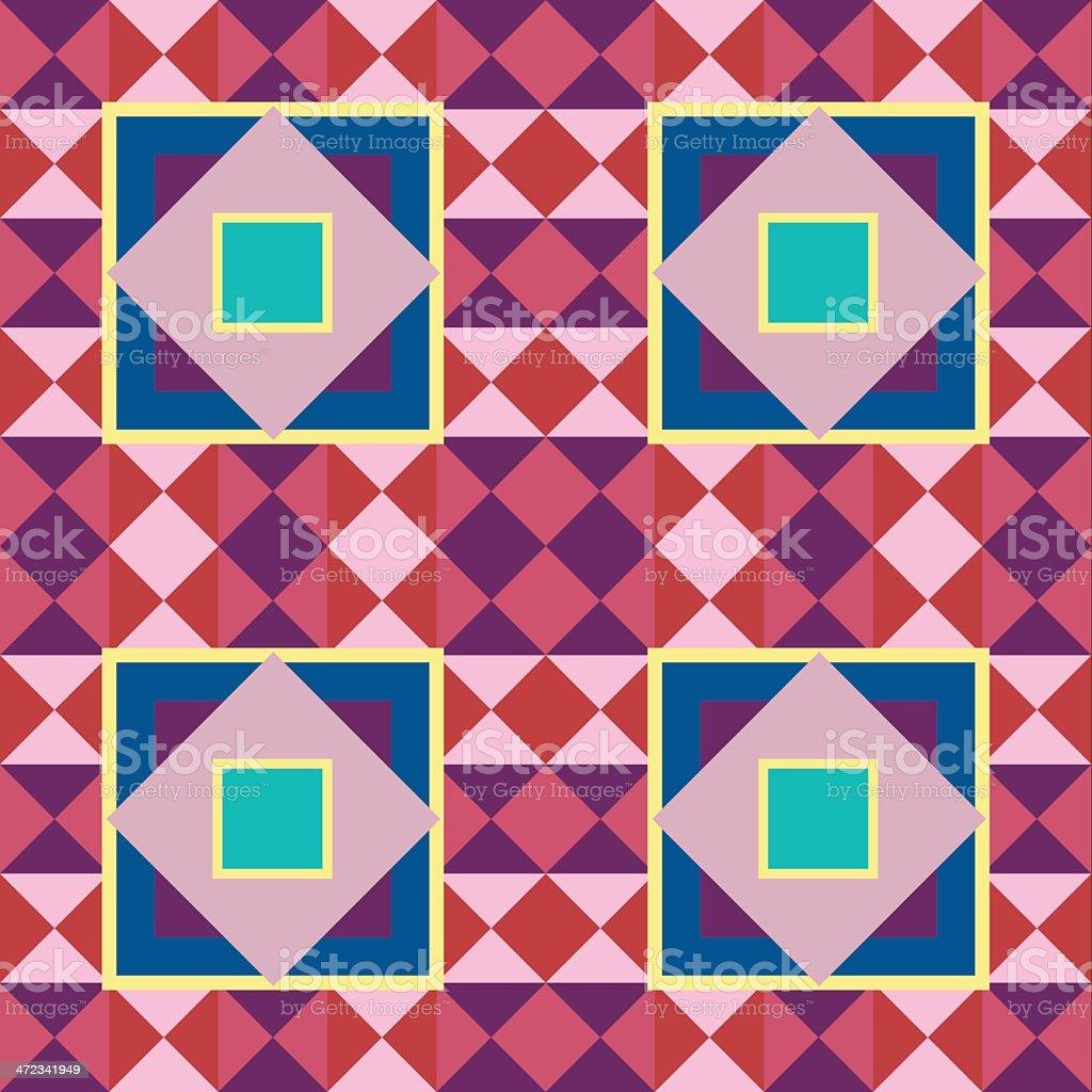 Geometic pattern royalty-free stock vector art
