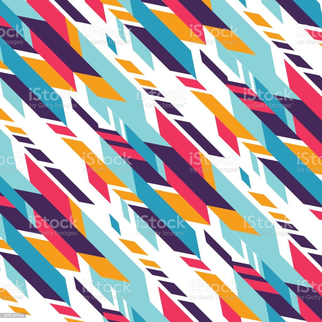 Geometric abstract background with colorful triangles. Vector illustration pattern for greeting card vector art illustration