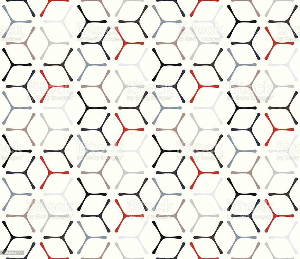 Geometric Abstract Pattern vector art illustration