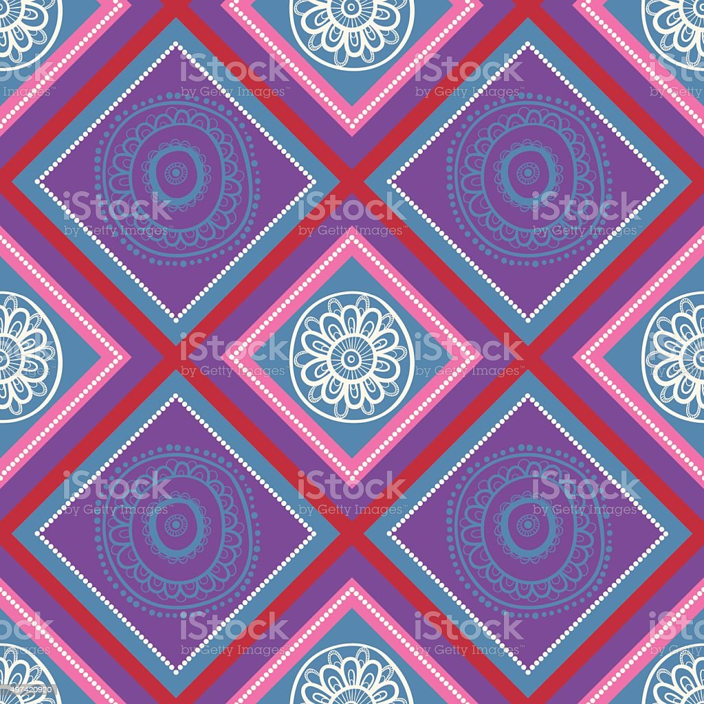 Geometric background. vector art illustration