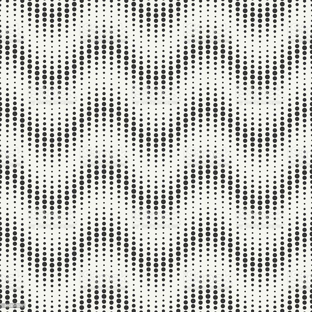 Geometric chevron zigzag stripes pattern. Randomly disposed spots. Dotted chevrons. vector art illustration