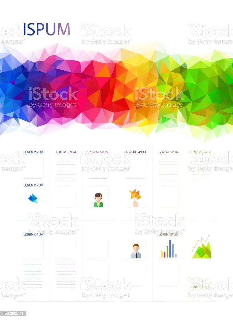 Geometric design royalty-free stock vector art