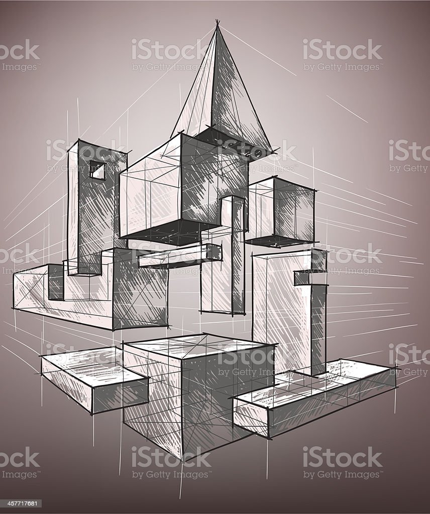 geometric figures royalty-free stock vector art
