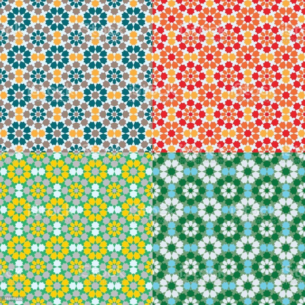 Geometric Islamic Pattern royalty-free stock vector art