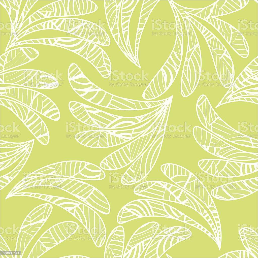 Geometric leaves . royalty-free stock vector art