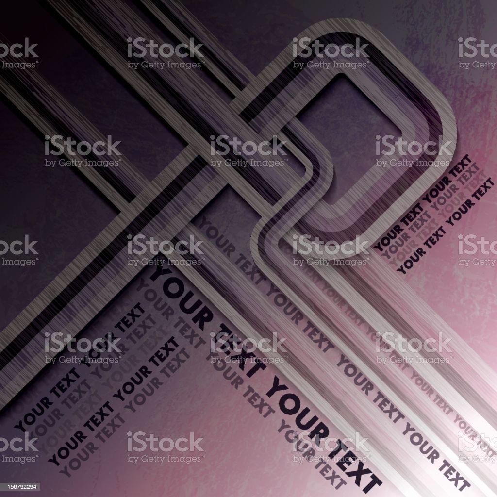 Geometric Line Design royalty-free stock photo
