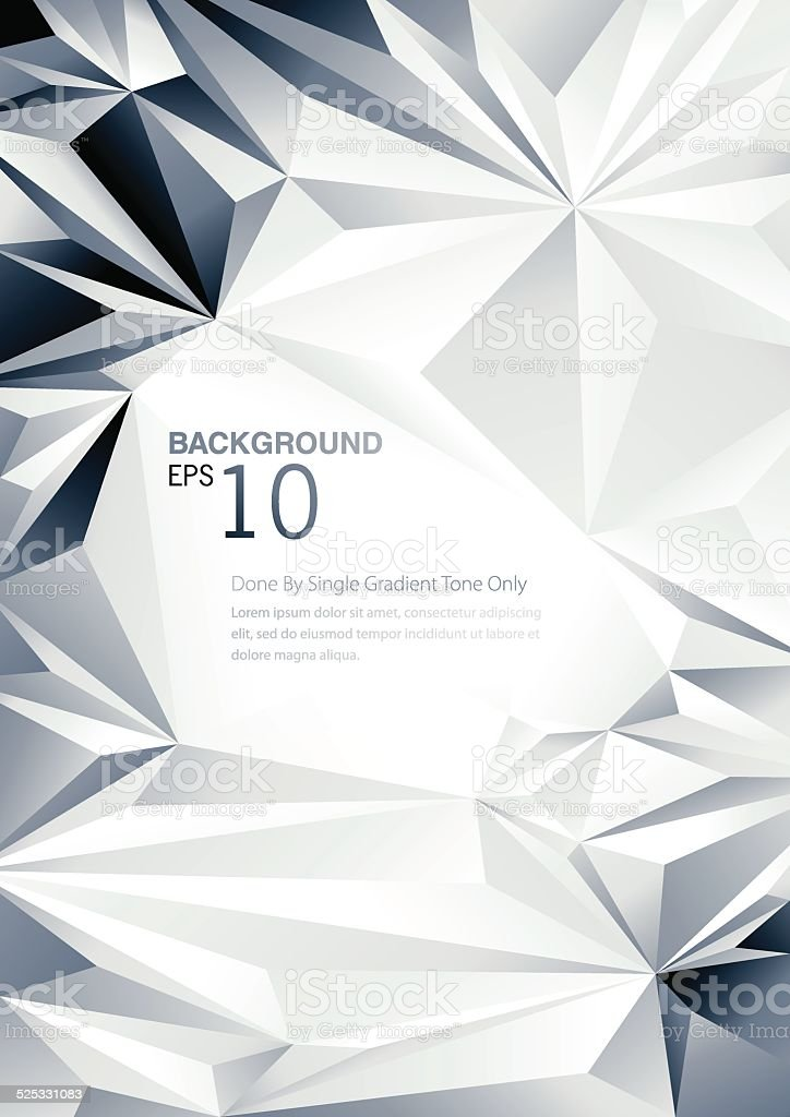 Geometric Low Poly Background vector art illustration