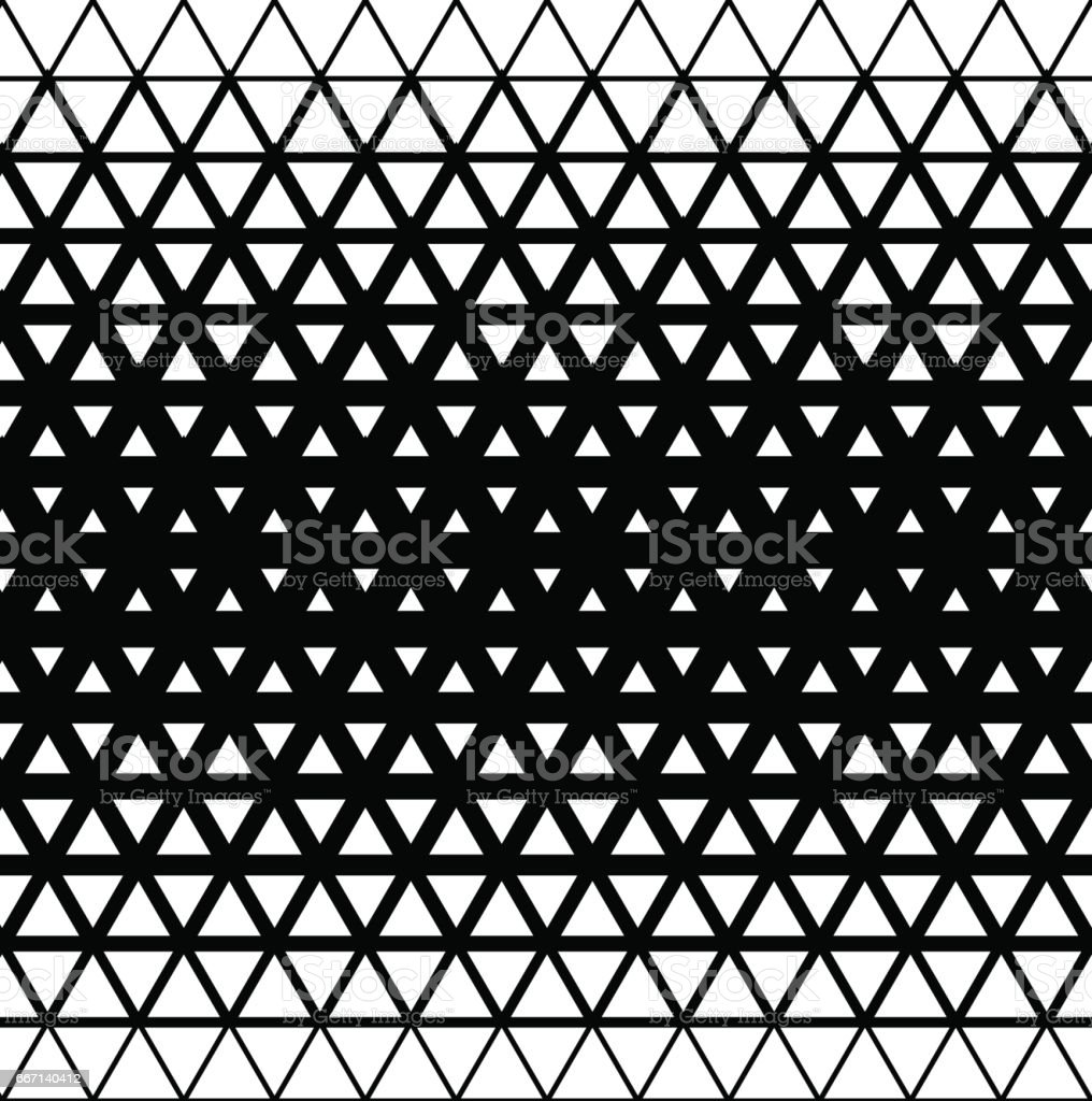 Geometric modern seamless background with triangle elements, vector illustration vector art illustration