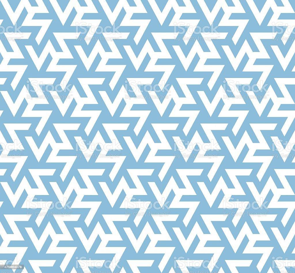 Geometric Pattern Seamless vector art illustration
