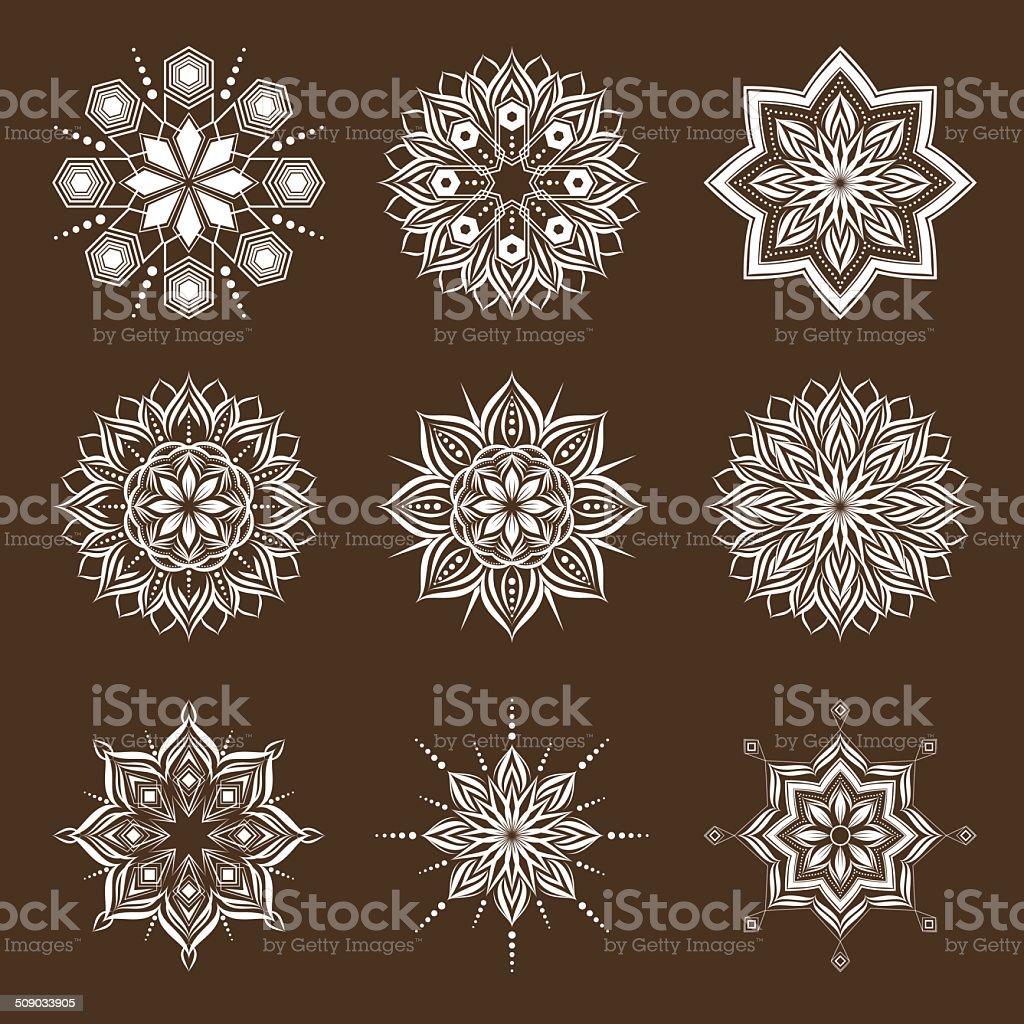 Geometric pattern vector vector art illustration