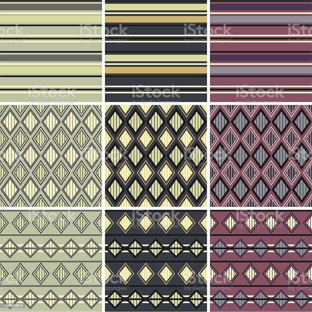 Geometric patterns . royalty-free stock vector art