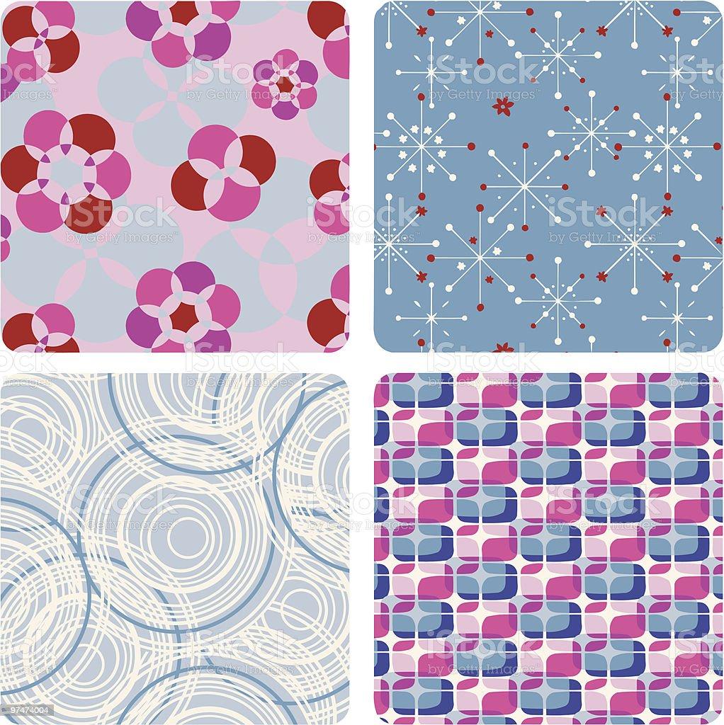 geometric patterns royalty-free stock vector art