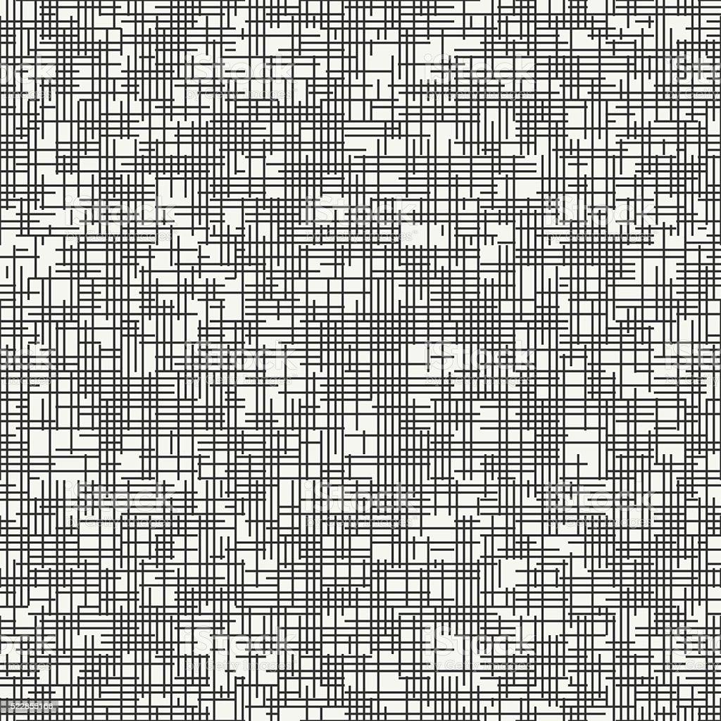 Geometric seamless discrete pattern. Background. Dashed strokes. Fine ripple structure. vector art illustration