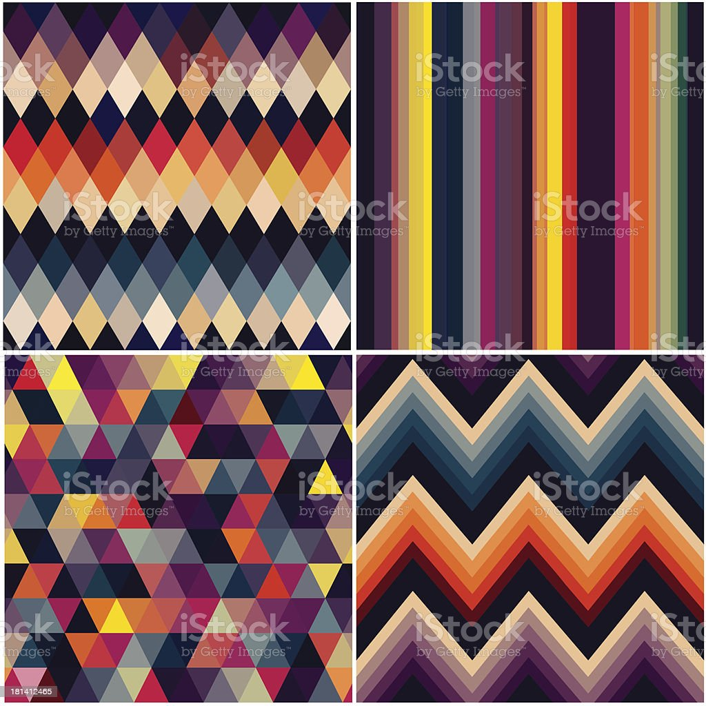 geometric seamless pattern royalty-free stock vector art