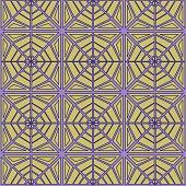 Geometric seamless pattern web