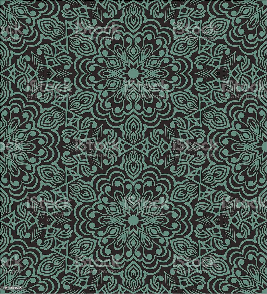 Geometric seamless wallpaper royalty-free stock vector art