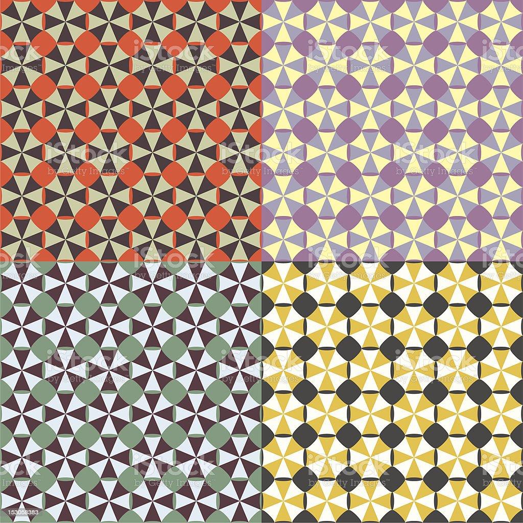 Geometric Tile vector art illustration