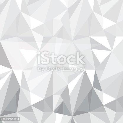 Geometric triangle shape pattern design Vector  Free Download