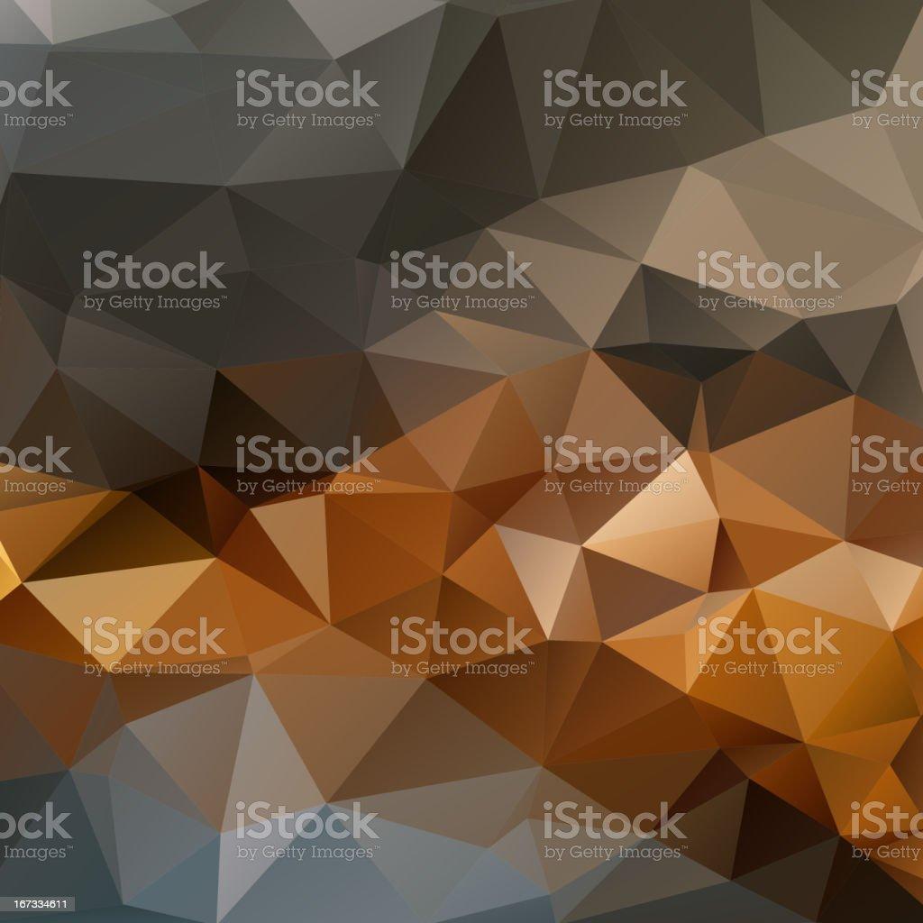 Geometric triangular mosaics background royalty-free stock vector art