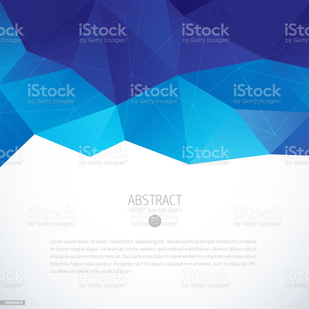 Geometric vector abstract background for modern design royalty-free stock vector art